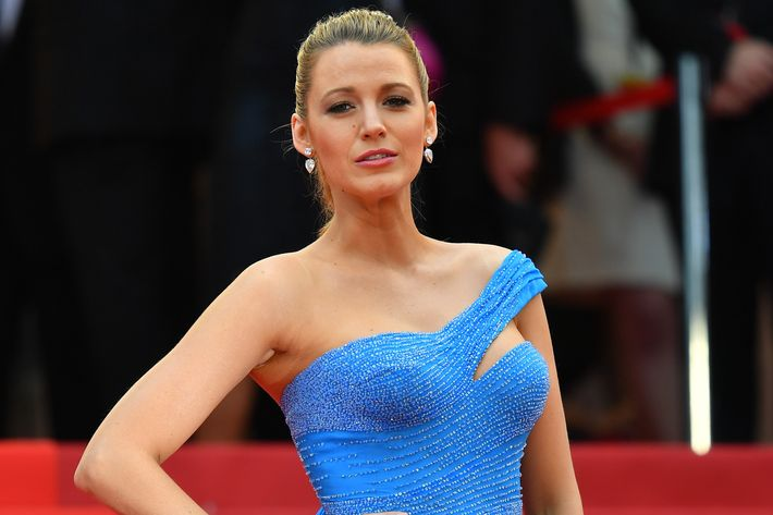 Blake Lively, just quoting '90s lyrics to express her feelings. Photo: Mustafa Yalcin/Anadolu Agency/Getty Images