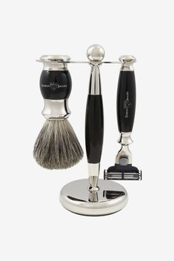 Edwin Jagger S81m357 Hand Assembled 3-Piece Shaving Set