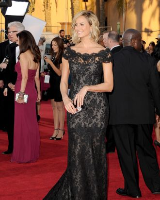Stacy Keibler in Marchesa at the SAG Awards.