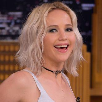 Jennifer Lawrence Visits