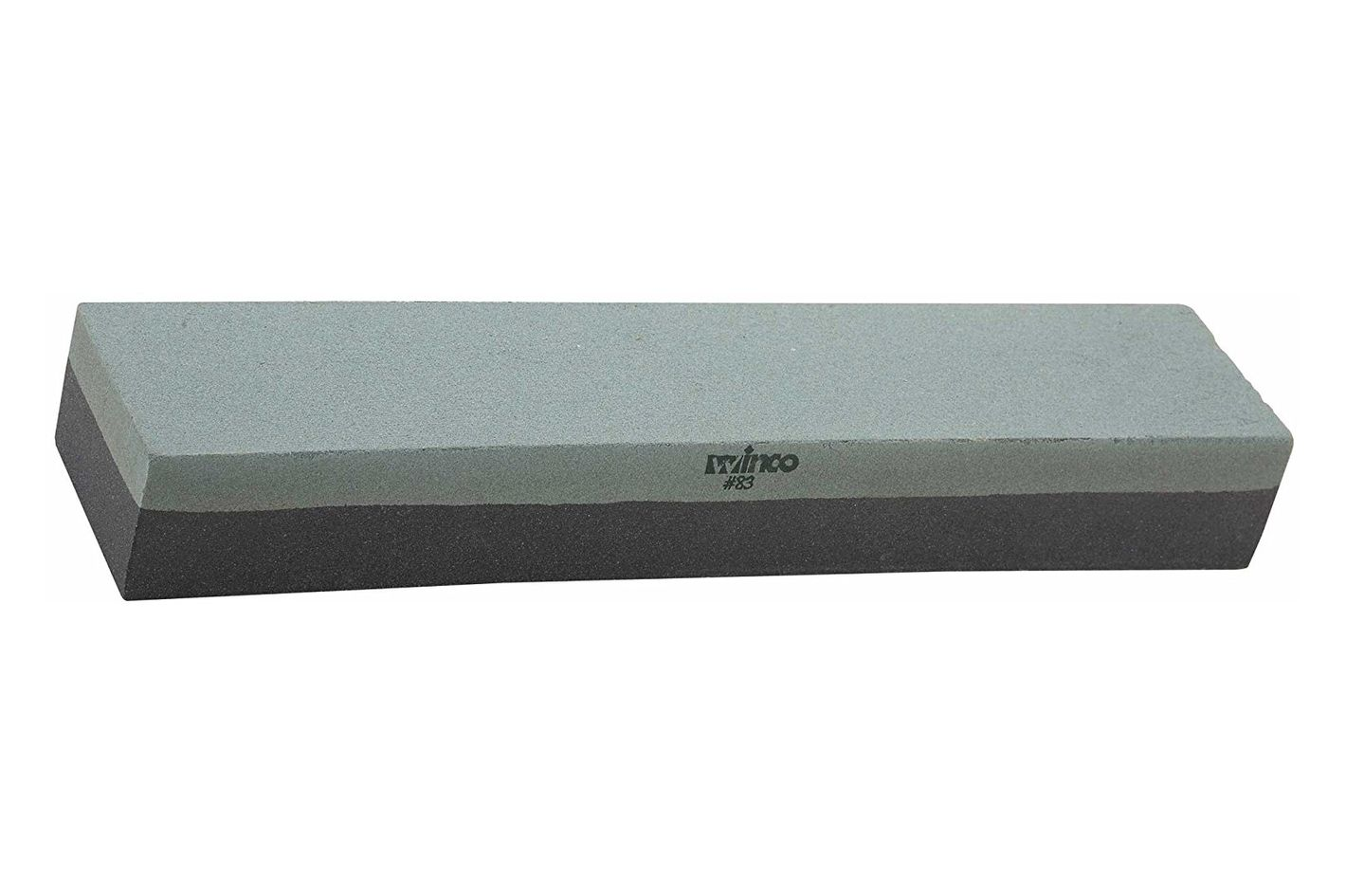 Winco 12-Inch Fine/Grain Knife Sharpening Stone, Medium