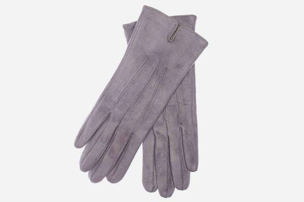 EEM Elegant Suede Look Gloves