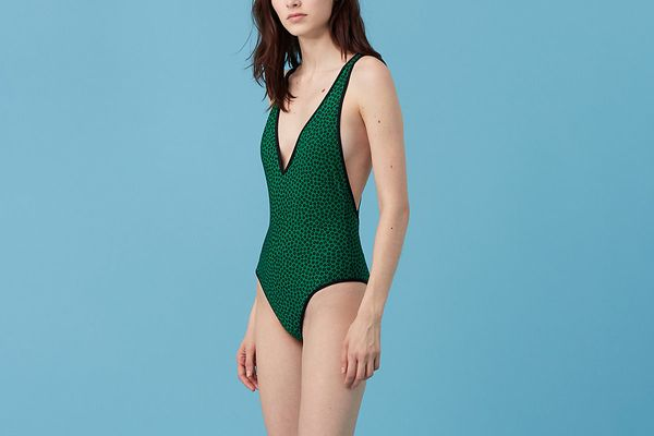 Deep V One-Piece