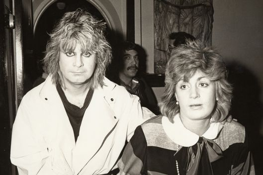 Ozzy Osbourne and Sharon Osbourne (Photo by Ron Galella/WireImage)