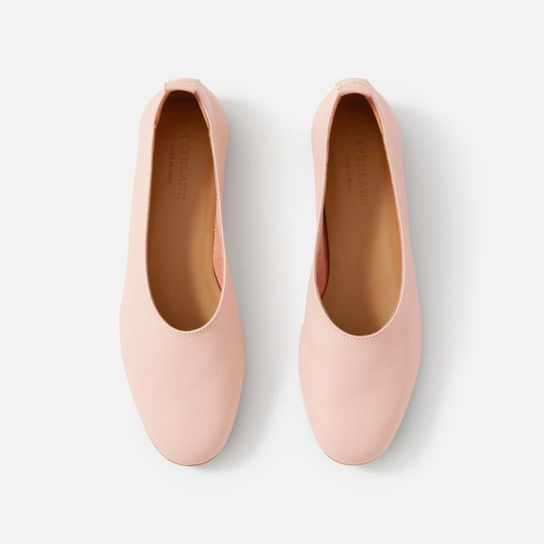 Everlane Day Glove Shoes, Rose