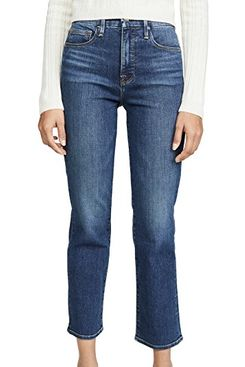 Good American Good Straight Jeans - strategist best good american denim blue jeans