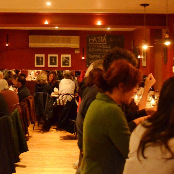 Al di la vino: Now with a more open floor plan.