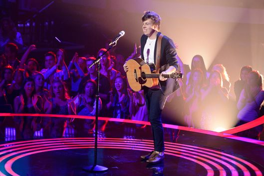 AMERICAN IDOL XIII:  Alex Preston performs in front of the judges on Wednesday, Feb. 19