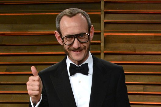 Photographer Terry Richardson attends the 2014 Vanity Fair Oscar Party hosted by Graydon Carter on March 2, 2014 in West Hollywood, California.
