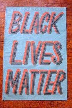 Made by Lauren B. Black Lives Matter Window Banner