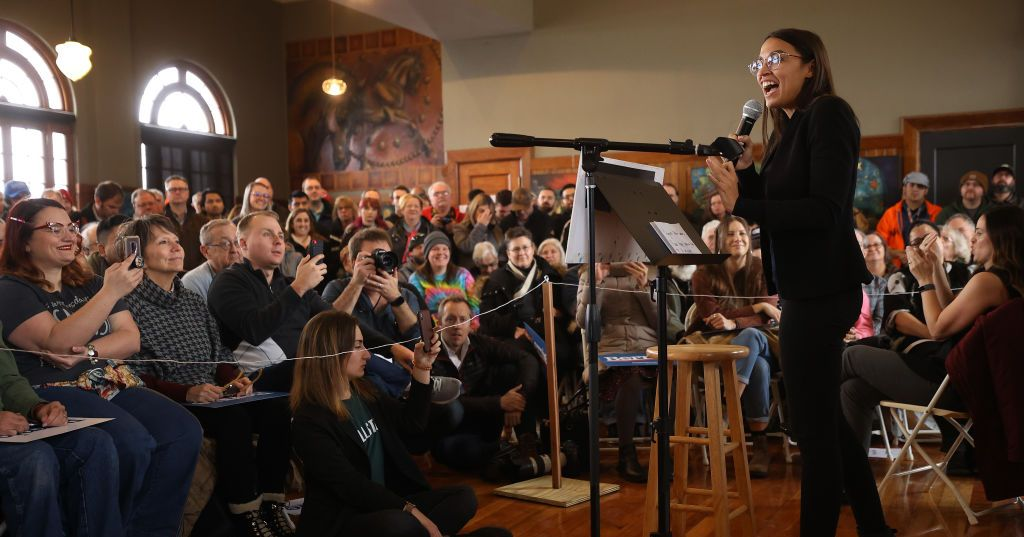 Alexandria Ocasio-Cortez Wows Iowa, Probably Not for the Last Time