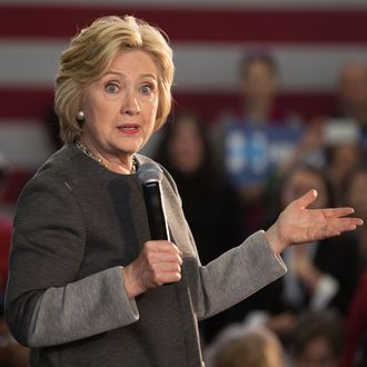 Hillary Clinton speaks at Hillary Town Hall with