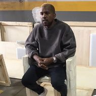 Kanye West Resurfaces at Art
