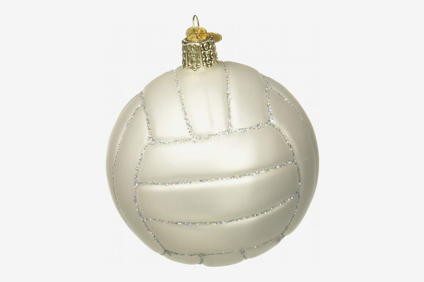 Old World Christmas Ornaments: Volleyball Glass Blown Ornament