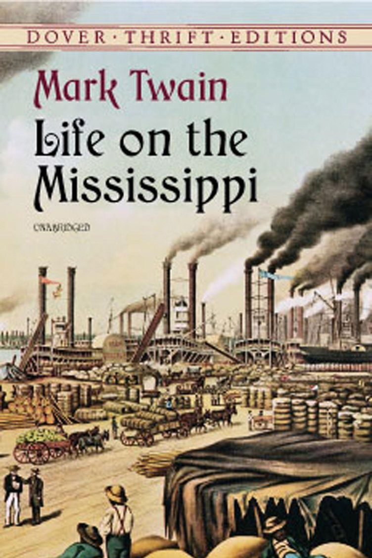 <em>Life on the Mississippi</em> by Mark Twain