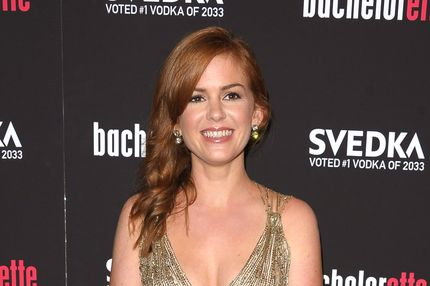 "Actress Isla Fisher attends the ""Bachelorette"" New York Premiere at Sunshine Landmark on September 4, 2012 in New York City."
