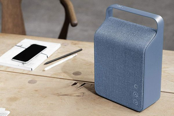 Vifa Oslo Compact Rechargeable Hi-Resolution Bluetooth Portable Speaker