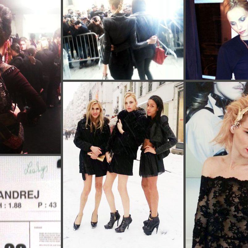 16836873c88b Exclusive Photos  Andrej Pejic s Paris Fashion Week Diary