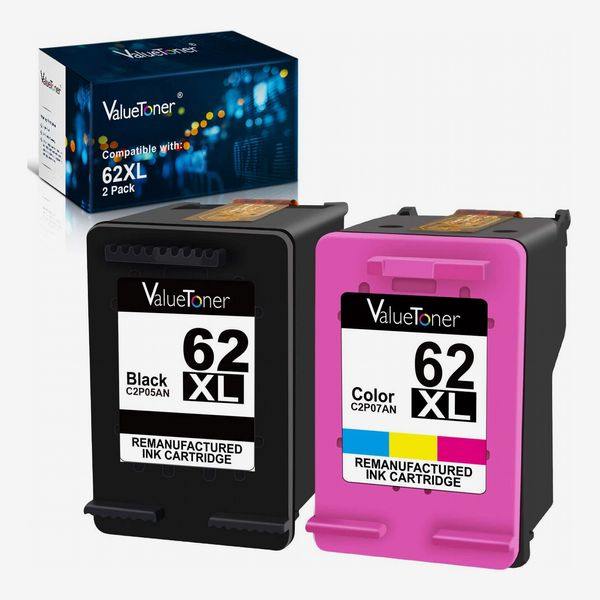 Valuetoner Remanufactured Ink Cartridge Replacement for HP 62XL