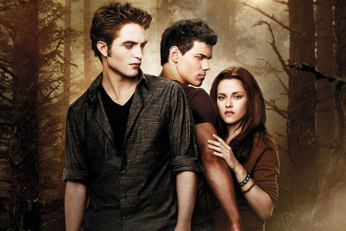 The stars of <em>The Twilight Saga: New Moon</em>.