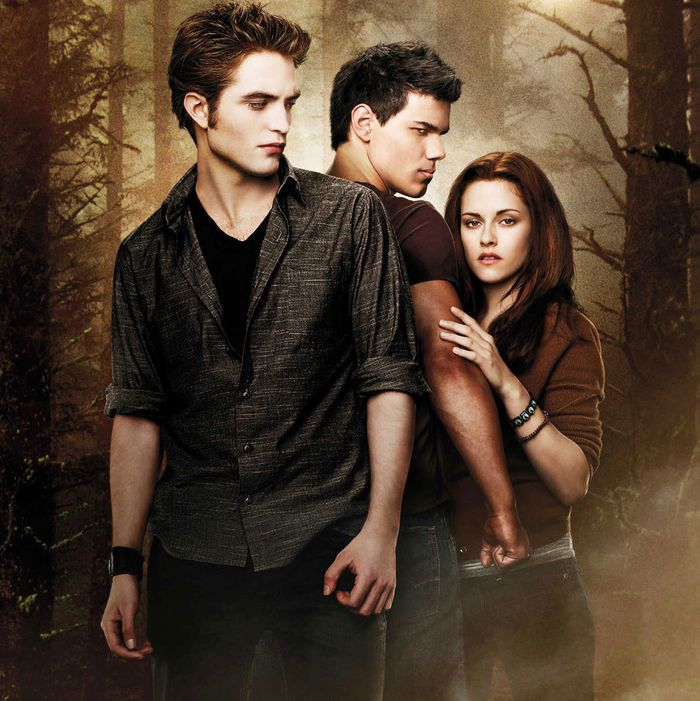 The stars of <em>The Twilight Saga: New Moon</em>.