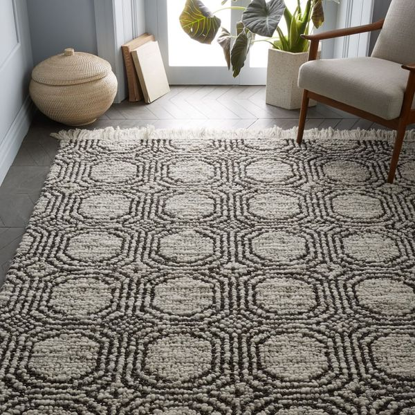 West Elm Concentric Circle Rug (5' x 8')