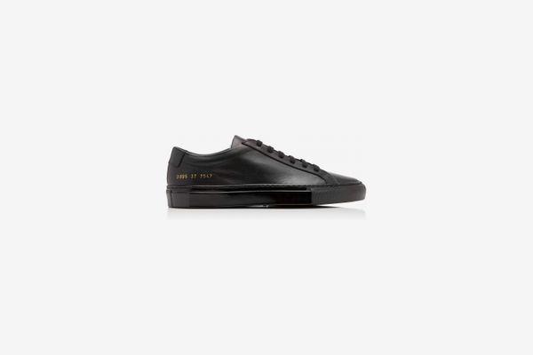 Common Projects Original Achilles Leather Sneaker, Black