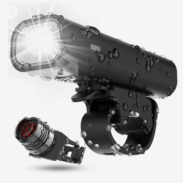 Cincred Rechargeable Front and Back Bike Light Set