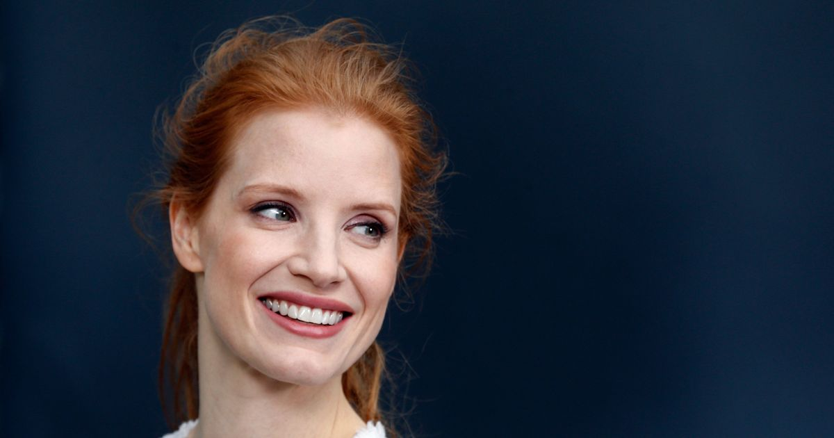 jessica chastain makeup