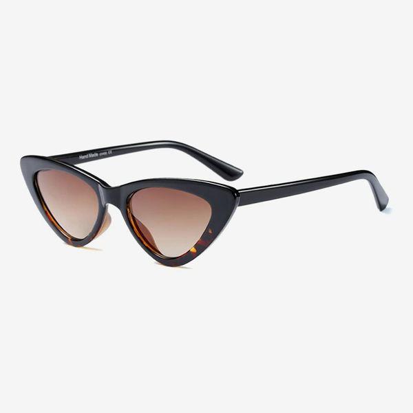 BOZEVON Women Triangle Sunglasses