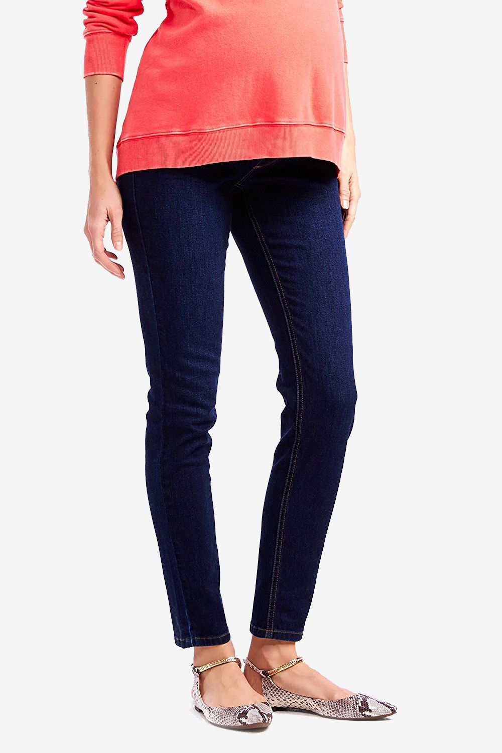 fedd10764eb4a Motherhood Maternity Jessica Simpson Petite Secret Fit Belly Jegging Maternity  Jeans