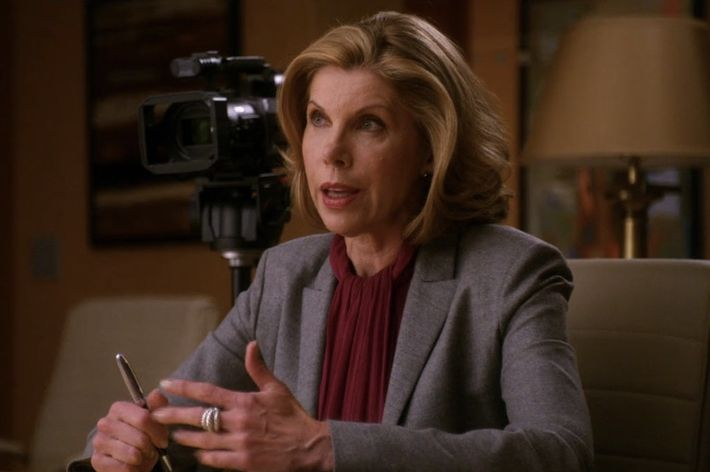 But She S Diane Lockhart Partner Of One The Best Law Firms In Chicago Can Do Better