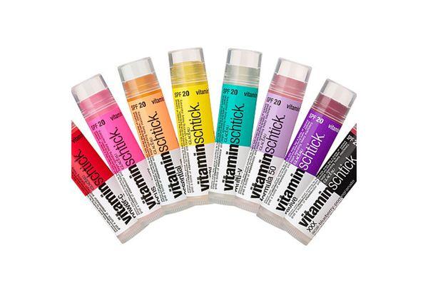 glaceau vitamin schtick essential lip balm- strategist best travel accessories and best lip balm