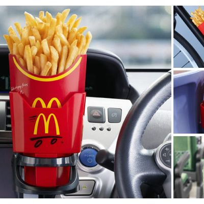 This French fry caddy won't help anything.
