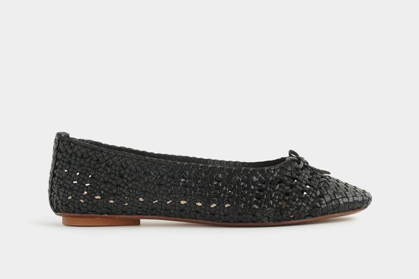 Dragon Diffusion for J.Crew Woven Ballet Flats