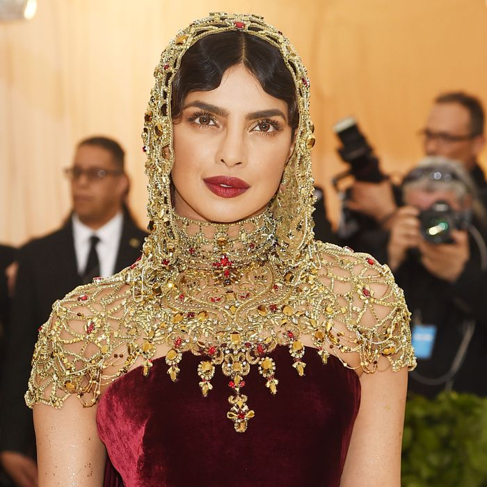 Priyanka Chopra at the 2018 Met Gala