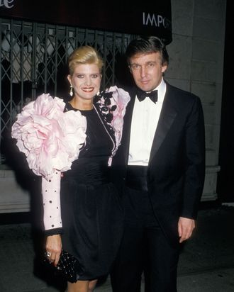 Ivana and Donald Trump