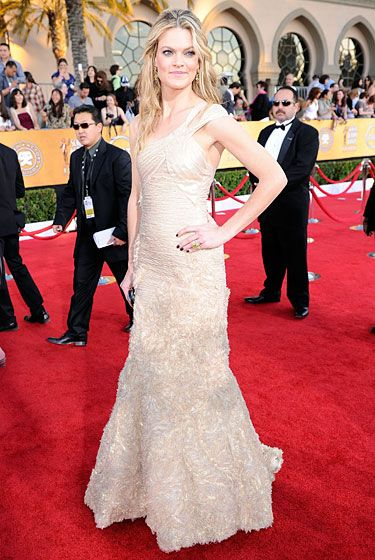 LOS ANGELES, CA - JANUARY 29:  Actress Missi Pyle arrives at the 18th Annual Screen Actors Guild Awards at The Shrine Auditorium on January 29, 2012 in Los Angeles, California.  (Photo by Kevork Djansezian/Getty Images)