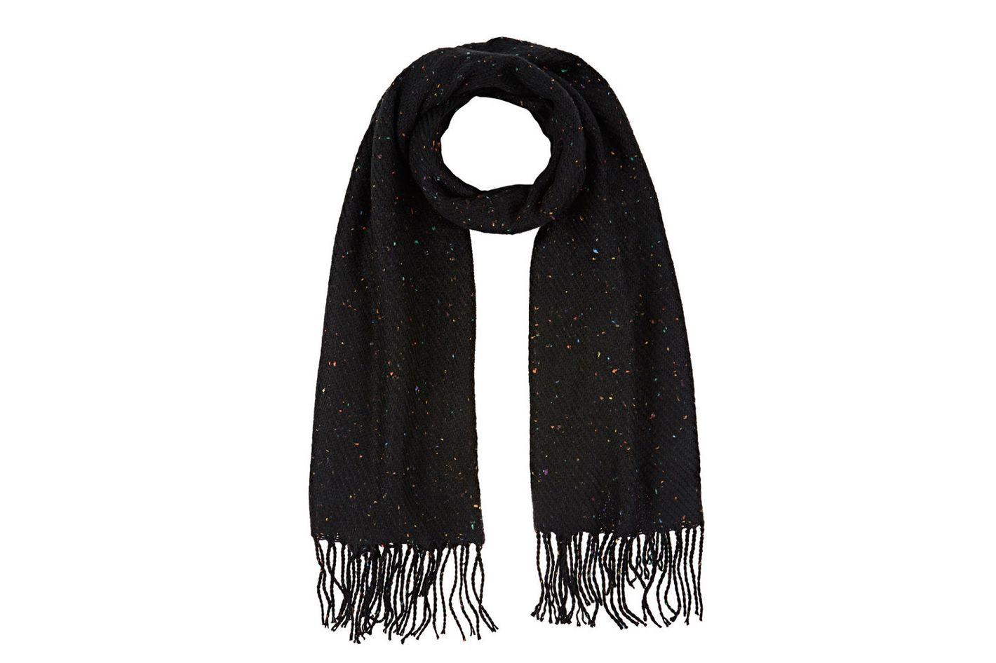 Barneys New York Speckled Blanket Scarf