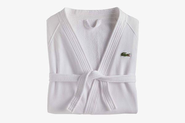 Lacoste Cotton Bath Robe