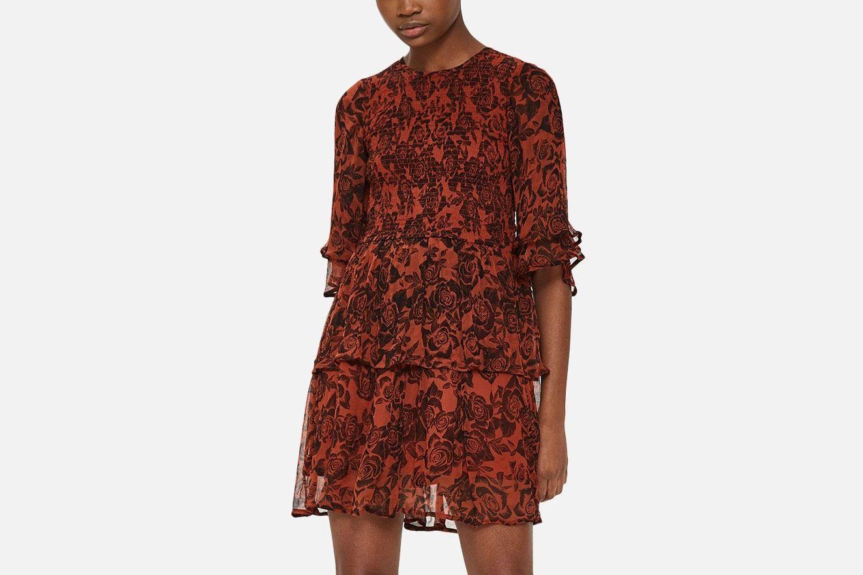 Ganni Beaumont Chiffon Dress