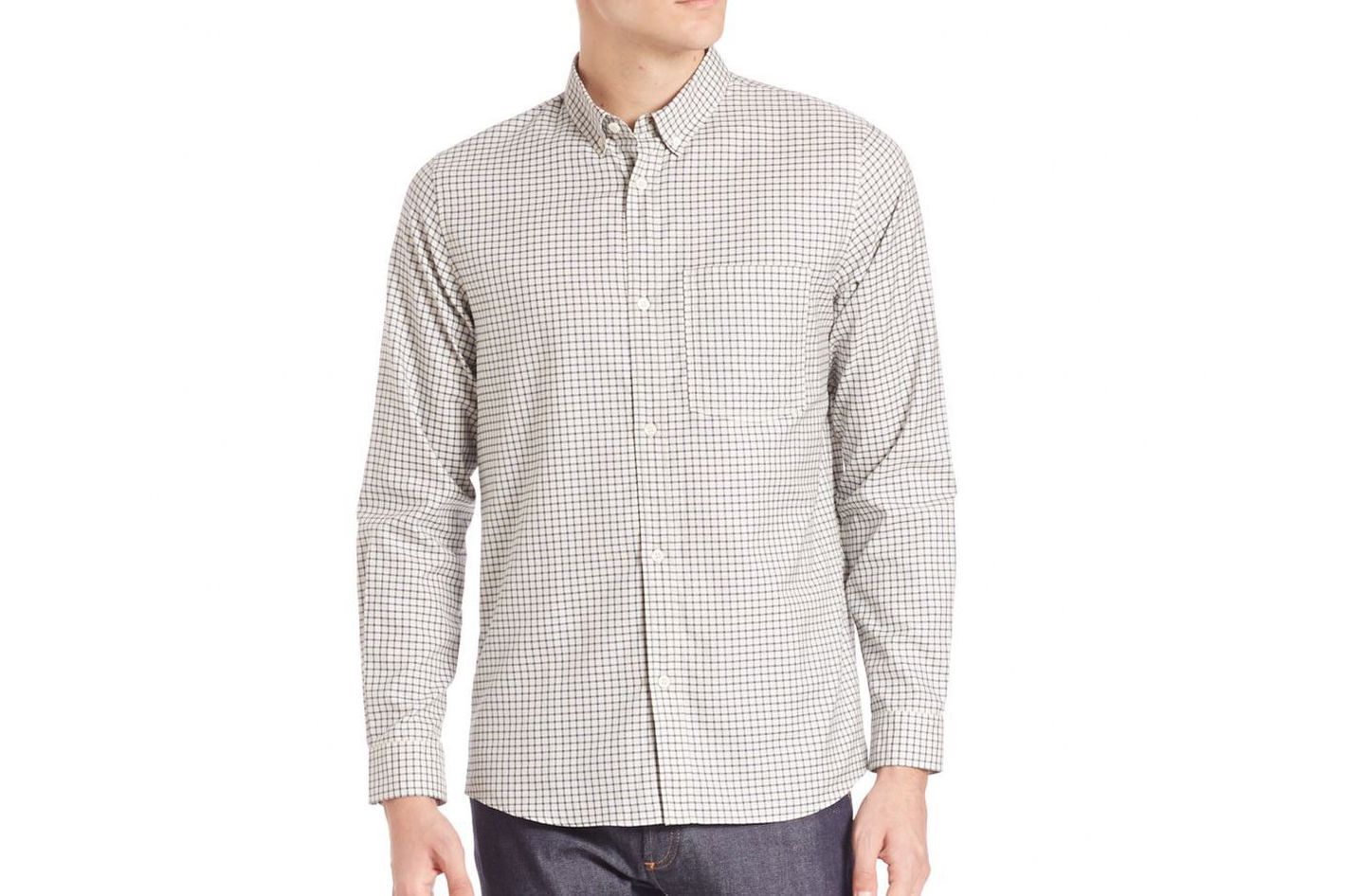 A.P.C. Chemise clift button down shirt