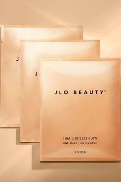 JLo Beauty That Limitless Glow Sheet Mask (Pack of 3)
