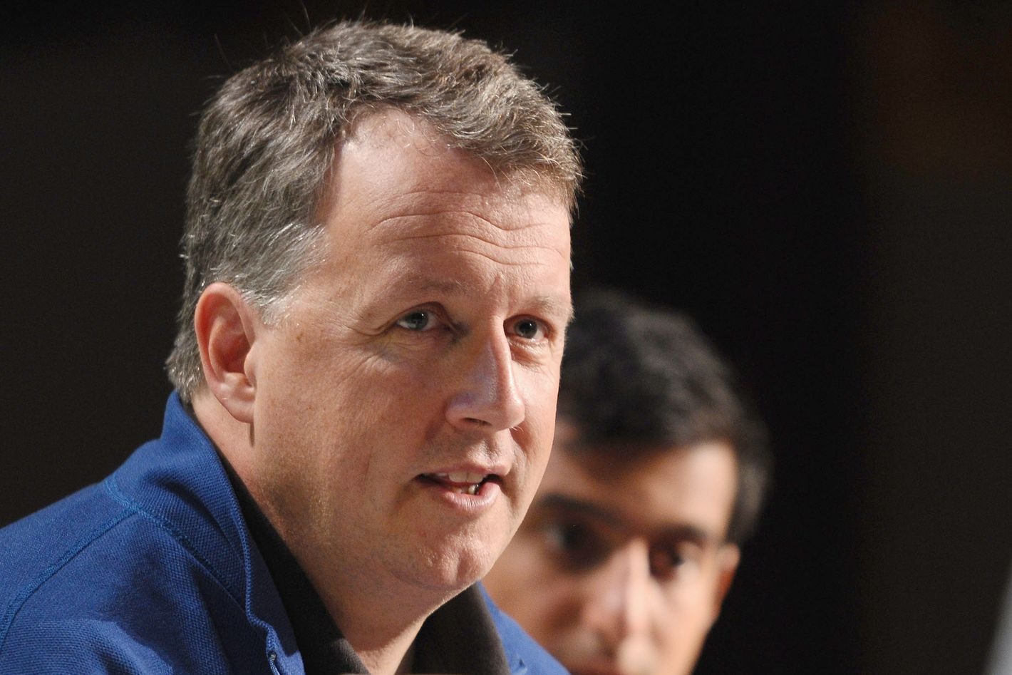 SAN FRANCISCO, CA - SEPTEMBER 12:  Paul Graham speaks onstage at Day 1 of TechCrunch Disrupt SF 2011 held at the San Francisco Design Center Concourse on September 12, 2011 in San Francisco, California.  (Photo by Araya Diaz/Getty Images for TechCrunch)