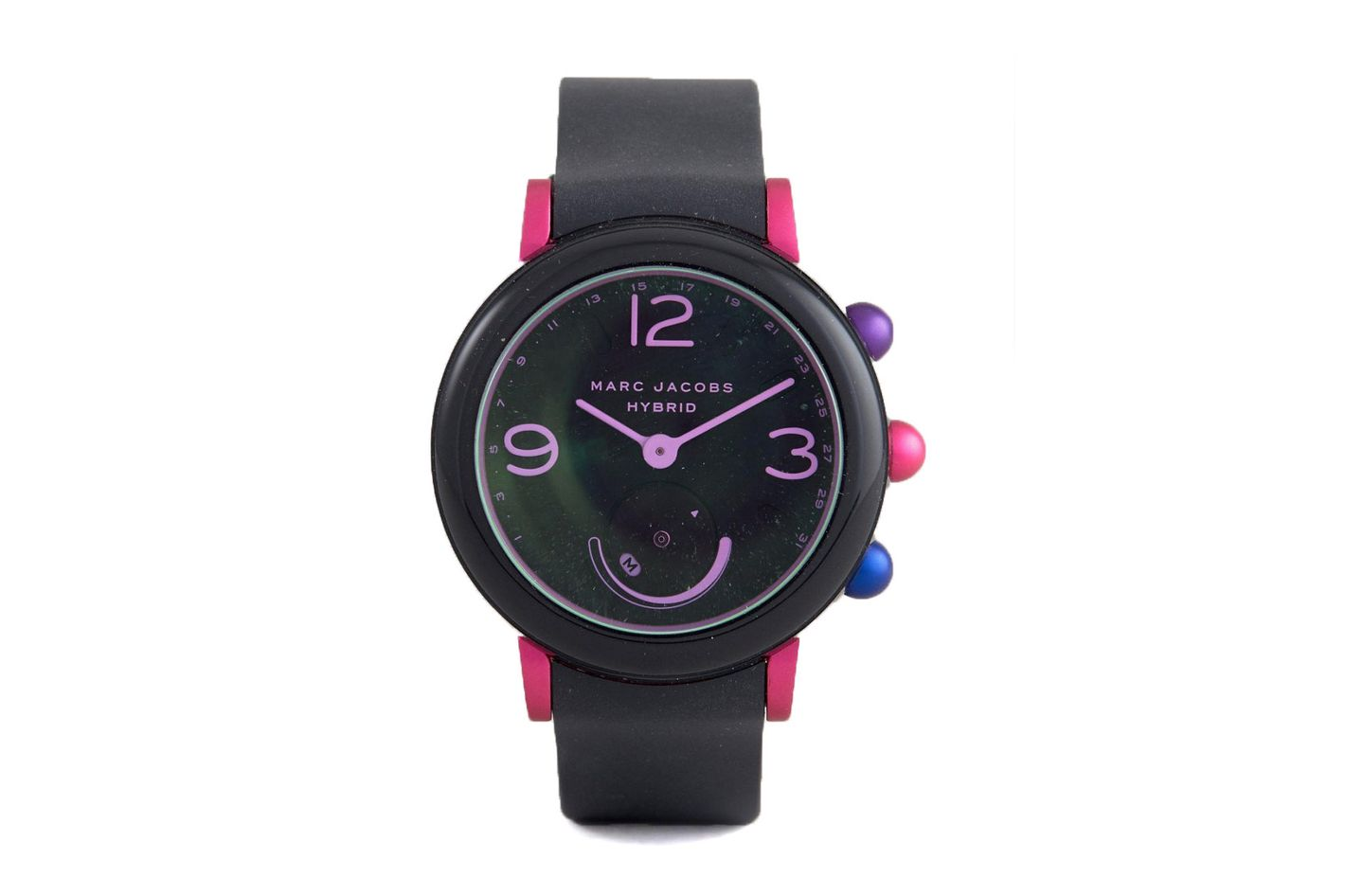 Marc Jacobs MJT1003 Hybrid Smart Watch In Black