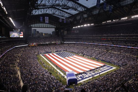 INDIANAPOLIS - SEPTEMBER 07:  A general view prior to the NFL game between the Chicago Bears and the Indianapolis Colts at Lucas Oil Stadium on September 7, 2008 in Indianapolis, Indiana. The Bears defeated the Colts 29-13. (Photo by Andy Lyons/Getty Images)