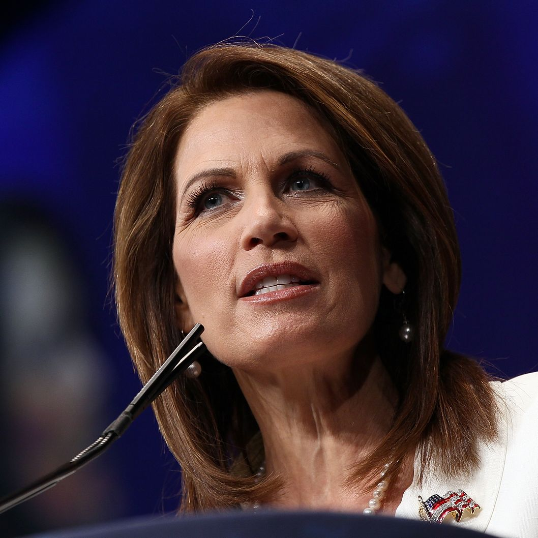 WASHINGTON, DC - FEBRUARY 09:  Rep. Michele Bachmann (R-MN) addresses the the annual Conservative Political Action Conference (CPAC) February 9, 2012 in Washington, DC. Thousands of conservative activists are attending the annual gathering in the nation's capital.  (Photo by Win McNamee/Getty Images)
