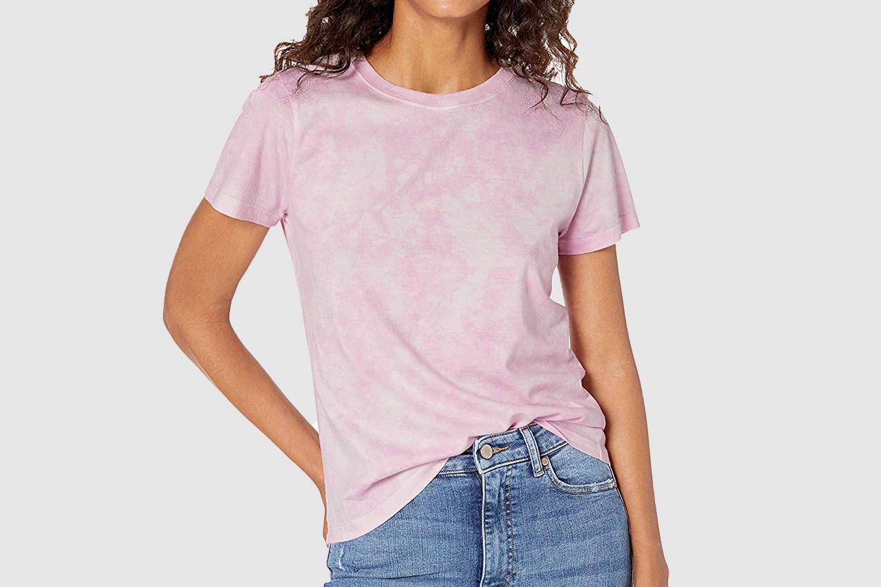 The Drop Courtney Short Sleeve Tiny Crew Neck Jersey T-Shirt