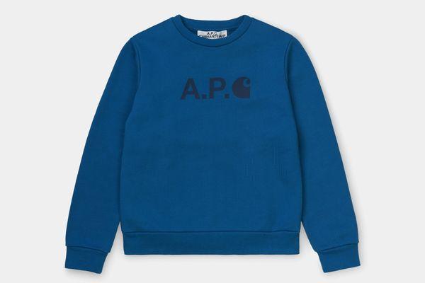 A.P.C. x Carhartt WIP Women's Ice Sweatshirt