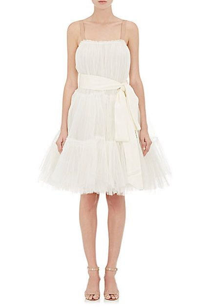 Lanvin Layered Tulle Tutu Dress